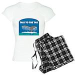 FIN-whale-talk-tail Women's Light Pajamas