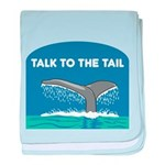 FIN-whale-talk-tail baby blanket