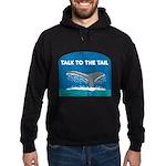 FIN-whale-talk-tail Hoodie (dark)