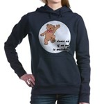 Dancing Teddy Bear Women's Hooded Sweatshirt
