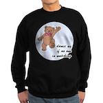 Dancing Teddy Bear Sweatshirt (dark)