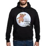 Dancing Teddy Bear Hoodie (dark)