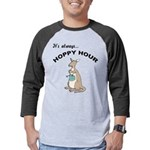 FIN-kangaroo-hoppy-hour Mens Baseball Tee