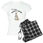 FIN-kangaroo-hoppy-hour Women's Light Pajamas