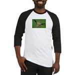 Funny Animals Greeting Cards Baseball Tee