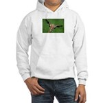 Funny Animals Greeting Cards Hooded Sweatshirt