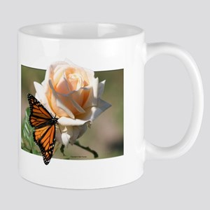 Jan's Rose & Monarch Mug