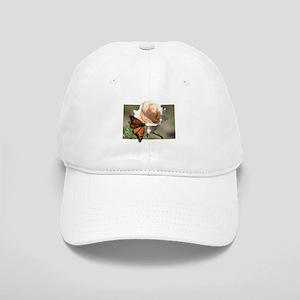 Jan's Rose & Monarch Cap