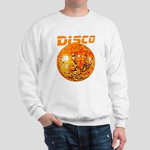 Orange Disco Ball Sweatshirt