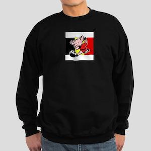 belgium-soccer-pig Sweatshirt (dark)