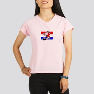 croatia-soccer-pig Performance Dry T-Shirt