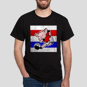 croatia-soccer-pig Dark T-Shirt