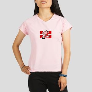 denmark-soccer-pig Performance Dry T-Shirt