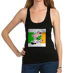 ireland-soccer-pig Racerback Tank Top