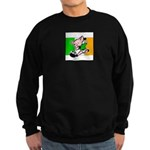 ireland-soccer-pig Sweatshirt (dark)