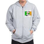 ireland-soccer-pig Zip Hoodie
