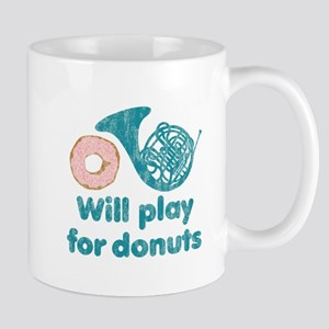 Will Play Horn for Donuts Mug