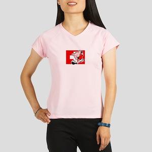 switzerland-soccer-pig Performance Dry T-Shirt
