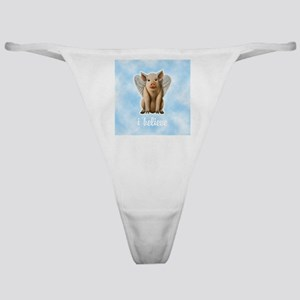FIN-flying-pig-believe-10X10 Classic Thong