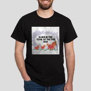 born-year-pig-1983 Dark T-Shirt