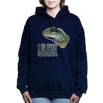 I Is for Iguana Women's Hooded Sweatshirt