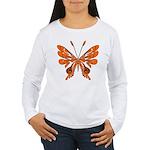 'Butterfly Tattoos Women's Long Sleeve T-Shirt