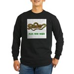 plays-with-snakes.t... Long Sleeve Dark T-Shirt