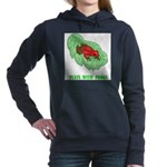 plays-with-frogs.ti... Women's Hooded Sweatshirt