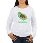 plays-with-frogs.ti... Women's Long Sleeve T-Shirt