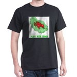plays-with-frogs.ti... Dark T-Shirt