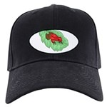 plays-with-frogs.ti... Black Cap with Patch