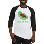 plays-with-frogs.ti... Baseball Tee