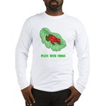 plays-with-frogs.ti... Long Sleeve T-Shirt