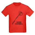 More Cowbell Kids Dark T-Shirt