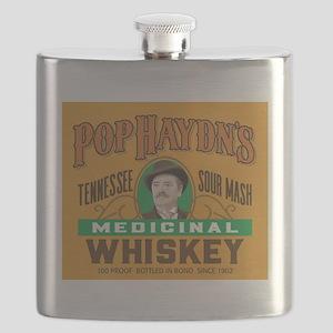 Pop's Whiskey Flask