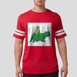 Baby Dinosaur Mens Football Shirt