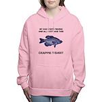 Crappie Pun Women's Hooded Sweatshirt