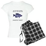 Crappie Pun Women's Light Pajamas