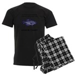 Crappie Pun Men's Dark Pajamas