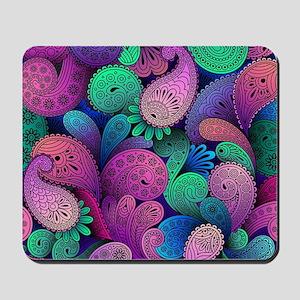 Colorful Paisley Mousepad