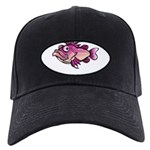 FIN-ugly-beta-fish Black Cap with Patch