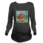 butterfly-6 Long Sleeve Maternity T-Shirt