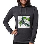 butterfly-5 Womens Hooded Shirt