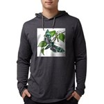 butterfly-5 Mens Hooded Shirt