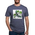 butterfly-5 Mens Tri-blend T-Shirt