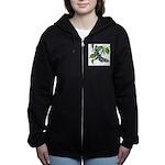 butterfly-5 Women's Zip Hoodie