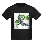 butterfly-5 Kids Dark T-Shirt