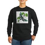 butterfly-5 Long Sleeve Dark T-Shirt