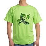 butterfly-5 Green T-Shirt