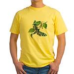 butterfly-5 Yellow T-Shirt
